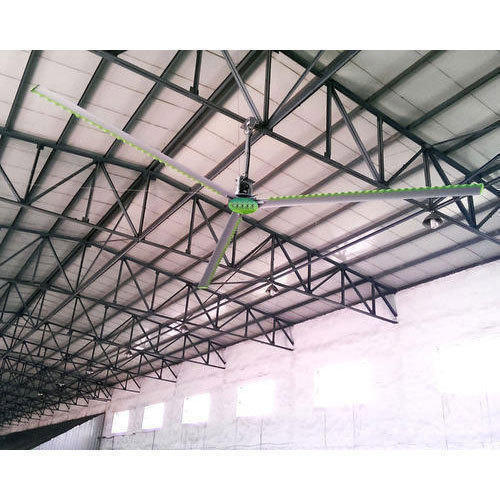 HVLS Fan For Gaushala In Morongial