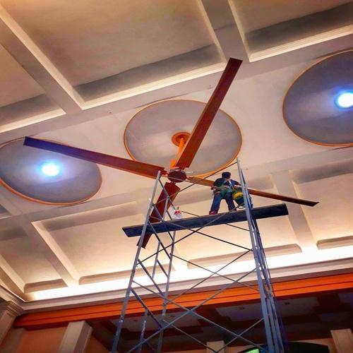 HVLS Fan For Restaurant In Rajkot