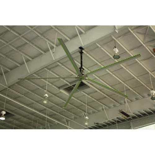 HVLS Fan For Trussless Roof In Janakpur