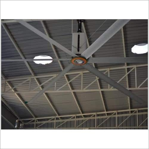 Large Industrial Ceiling Fan In Rajkot